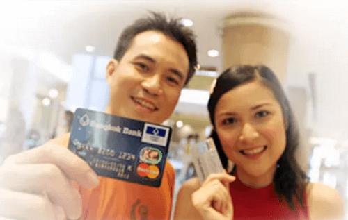 บัตรเครดิตมาสเตอร์การ์ดธนาคารกรุงเทพ