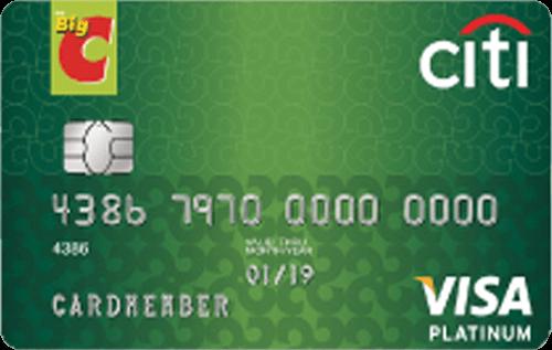 บัตรเครดิตซิตี้ บิ๊กซี วีซ่า แพลตตินั่ม