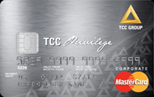 บัตรเครดิต ทีซีซี พริวิเลจ การ์ด